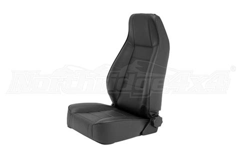 Smittybilt Factory Style Replacement Front Seat Black