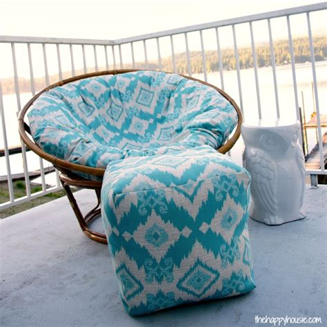 Diy Ottoman Pouf by How To Sew A Diy Pouf Ottoman Indoor Or Outdoor The