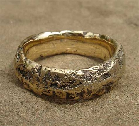 s heavily textured gold wedding ring love2have in