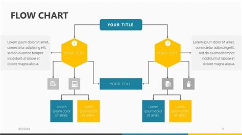 flow chart design powerpoint abstract circle flow chart