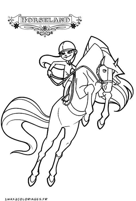 nos jeux de coloriage horseland  imprimer gratuit page