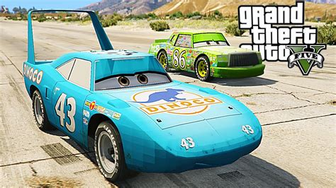 king dinoco  chick hicks gta  cars mods youtube