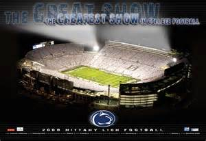Penn State Beaver Stadium White Out