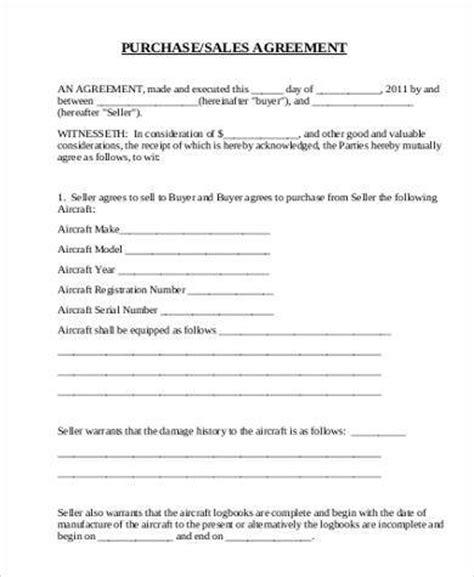 printable agreement forms   word