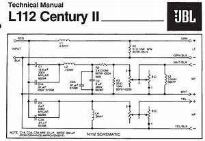 Jbl L112 - Crossover Confusion