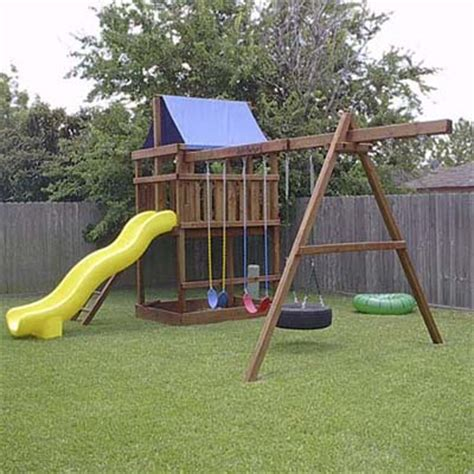 Backyard Play Structure by Diy Plans Play Structures This House