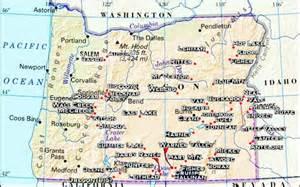 Hot Springs Oregon Map