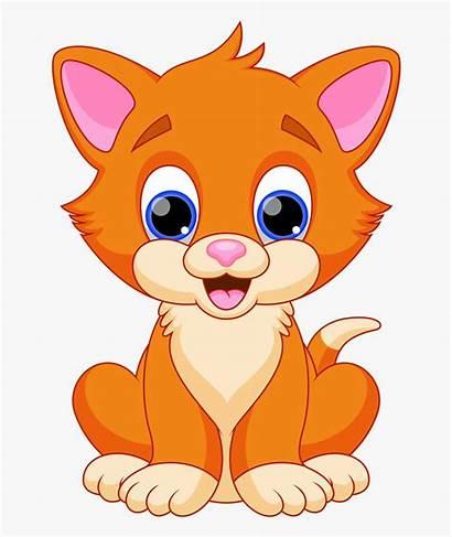 Cat Clip Clipart Cartoon Kitty Cut Transparent