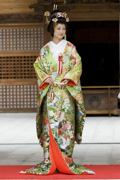 Traditional Japanese Wedding Kimono by Wedding Kimono With Uchikake Garment Traditional