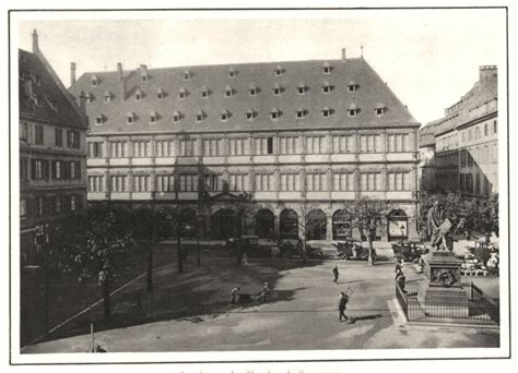 chambre des notaires bas rhin bas rhin strasbourg la chambre de commerce vintage print 1929