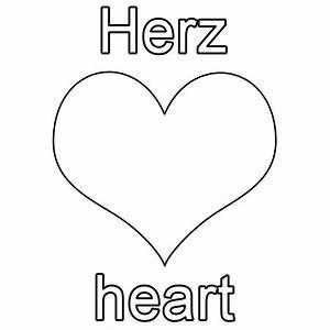 Herz Bilder Kostenlos Downloaden : kostenlose malvorlage englisch lernen herz heart zum ausmalen ~ Eleganceandgraceweddings.com Haus und Dekorationen