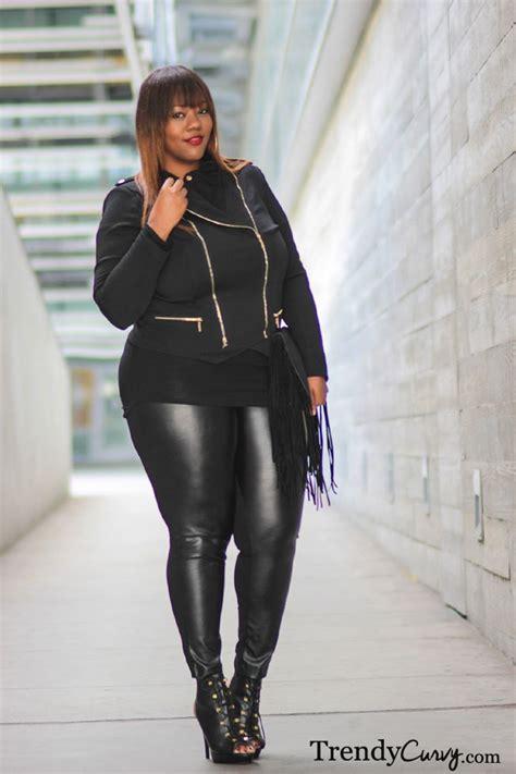 #Trendy Curvy - #Plus Size #Fashion Total black look! Enjoy the outfit ) ! | BBW Ladies ...