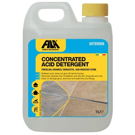 fila deterdek acid descaling cleaner 1 litre
