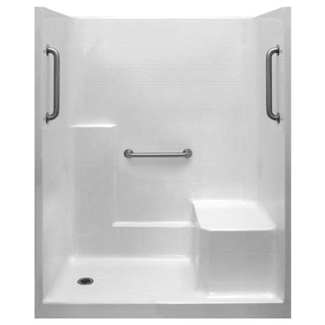 Integrated Shower Units by Ella Classic 36 In X 60 In X 77 In 1 Low