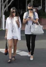 Kim Kardashian Denim Vest