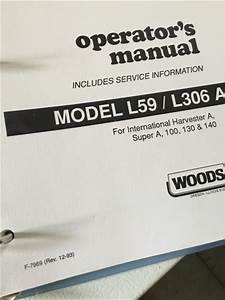 Installing Belt On Woods L59 On Su