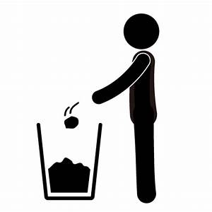 Throw Trash Away Clipart