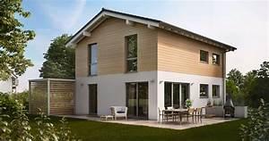 Haus Mit Satteldach 25 Grad : familienhaus cara flache dachneigung ~ Lizthompson.info Haus und Dekorationen