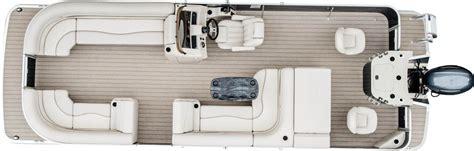 Bennington Pontoon Boats Floor Plans by Sx25 Premium Cruise Fishing Pontoon Boats By Bennington
