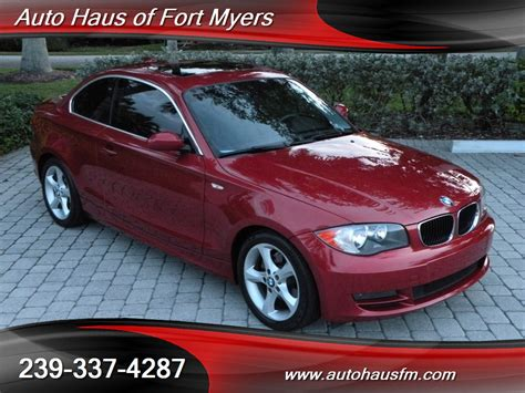 2008 Bmw 128i Coupe Ft Myers Fl For Sale In Fort Myers, Fl