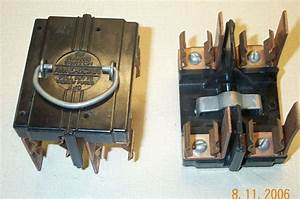 American 60 Amp Range Switch Fuse Panel Pull Out Holder