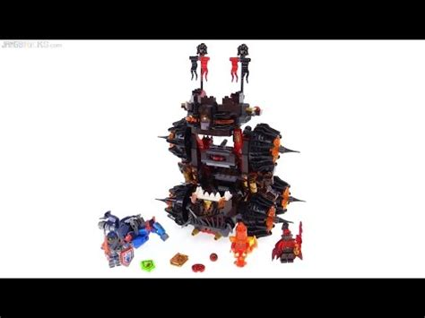 lego siege social lego nexo knights general magmar 39 s siege machine of doom