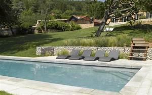 Photo D Amenagement Piscine : am nagement des abords d 39 une piscine mon jardin en ligne ~ Premium-room.com Idées de Décoration