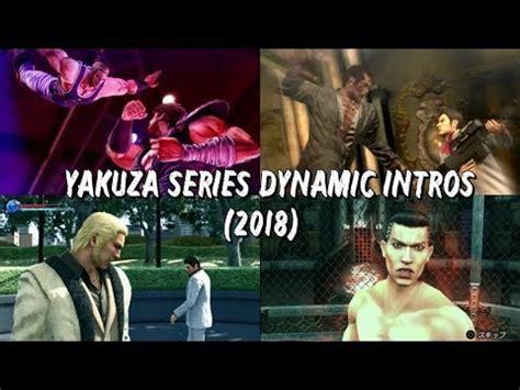 ryu ga gotokuyakuza series boss dynamic intros