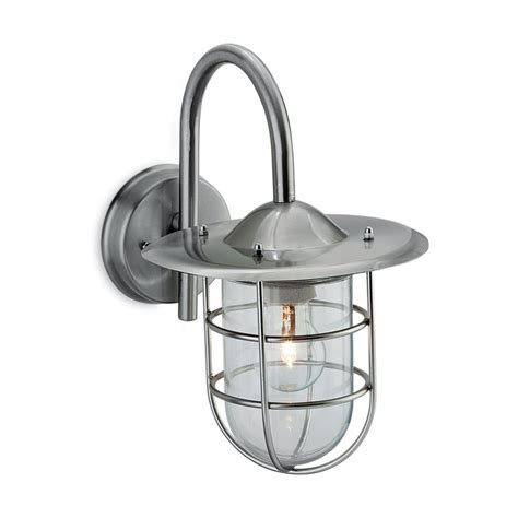 firstlight 8352st cage single light outdoor wall fitting