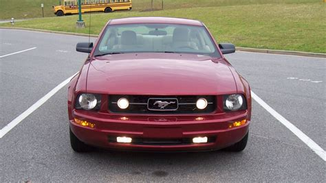 mustang pony package custom fog lights ford mustang