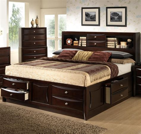 Bett Mit Aufbewahrung by C0172 Storage Bed By Lifestyle Bedroom Ideas