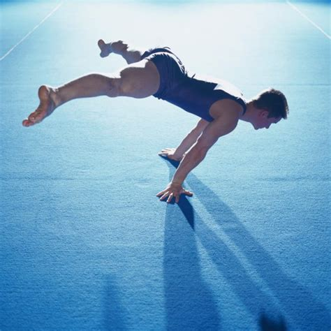 the size of an olympic gymnastics floor exercise mat healthy living