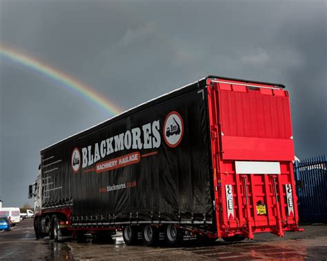 blackmores machinery haulage turns  andover trailers