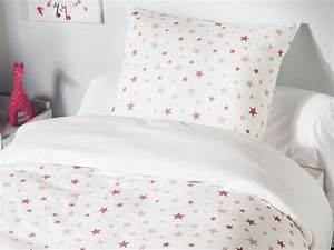 Housse De Couette Rose Pastel : housse de couette r versible 100 coton easycare toile ~ Teatrodelosmanantiales.com Idées de Décoration