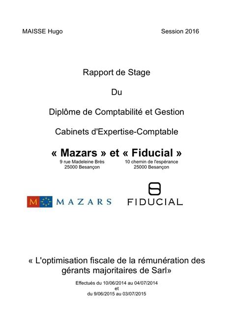 rapport de stage dcg 3 immac by hugomaisse issuu