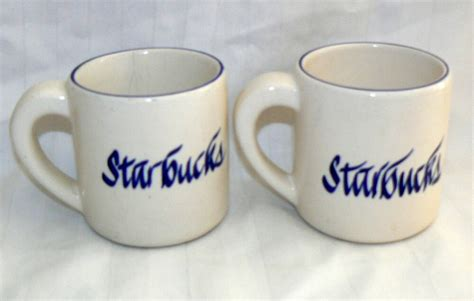 Customized mugs speak to their recipients on a more personal level, making them feel. STARBUCKS 12 OZ PAIR SET OF 2 HEAVY THICK COFFEE MUGS | eBay