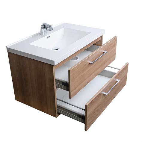 buy  wall mount contemporary bathroom vanity set