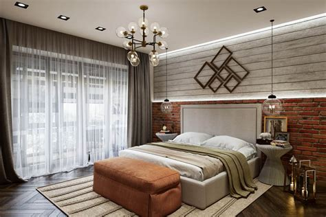 bedroom rendering contemporary design archicgi