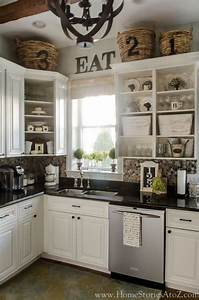 best 25 decorating above kitchen cabinets ideas on With kitchen cabinets lowes with eat drink and be merry wall art