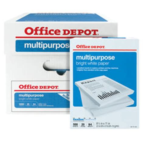 Post Office Coupons Home Depot by Office Depot 10 Reams Of Paper Deal Southern Savers
