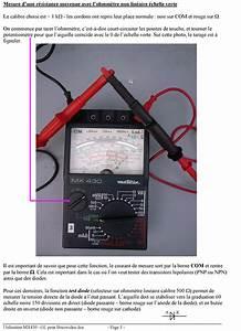 Appareil De Mesure De Tension électrique : appareil de mesure electrique metrix ~ Premium-room.com Idées de Décoration
