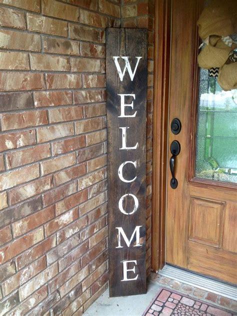 welcome signs for door best 25 welcome signs front door ideas on
