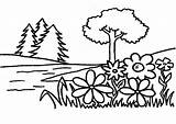 Coloring Garden Eden Pages Flowers Tree Flower Trees Plants Preschool Gardening Printable Sheets Colouring Drawing Netart Krabs Thug Mr Books sketch template