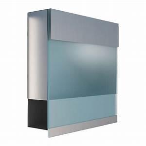 Acrylplatte Mit Echtglasbeschichtung : briefkasten design wandbriefkasten manhattan acryl blau rost ~ Whattoseeinmadrid.com Haus und Dekorationen