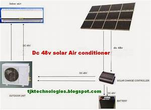 Solar Air Conditioner Circuit Diagram