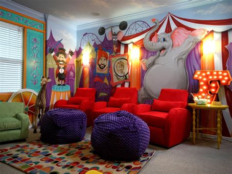Decorating Themes : Decorating Ideas For Fun Playrooms And Kids' Bedrooms