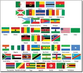 African Country Flags with Names