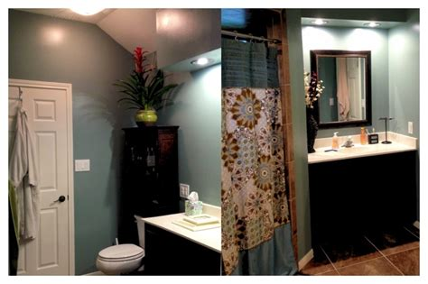 finally finished our bathroom the agave paint color from behr favorite things