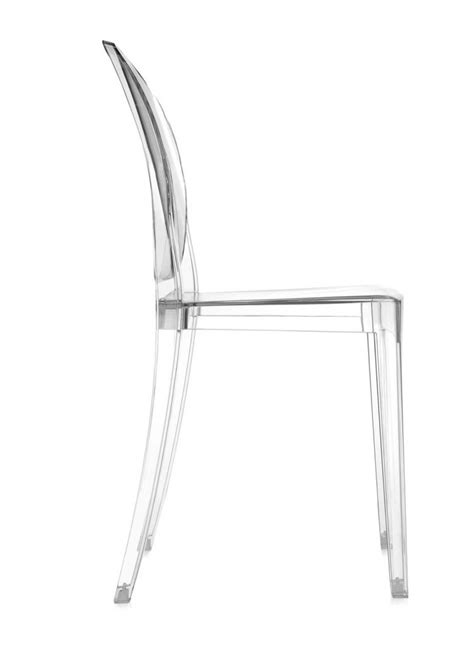 chaise cristal chaise ghost kartell transparente
