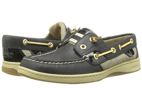 Boat Brands Alphabetical by Sperry Top Sider Rainbow Slip On Boat Shoe Black Patent